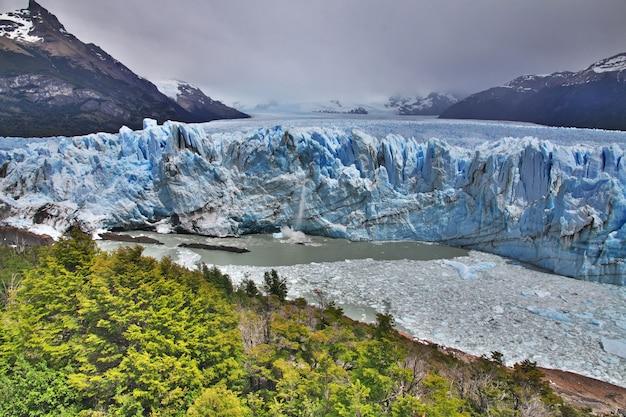Geleira perito moreno perto el calafate, patagônia, argentina
