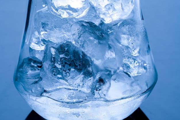 Gelo derrete, conceito de aquecimento global