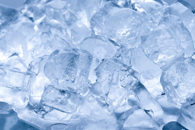 Gelo derrete fundo