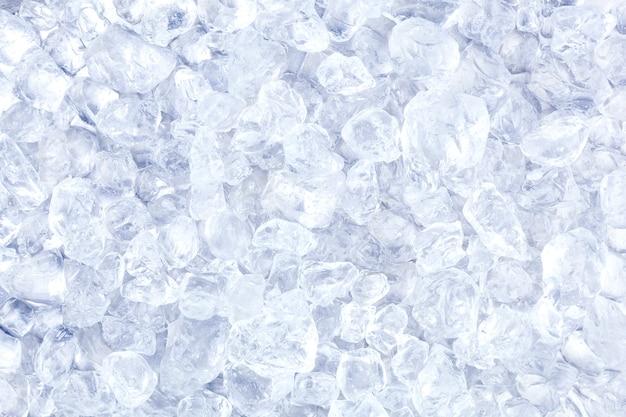 Gelo picado ou textura