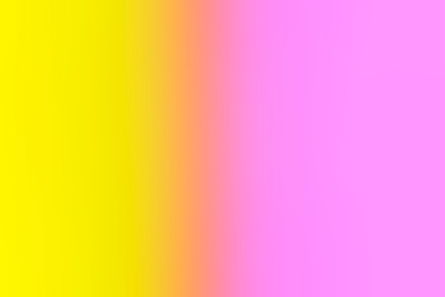 Gentle pink and yellow in gradient