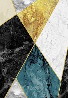 Geodo de resina e arte funcional abstrata em mármore, como pintura em aquarela de geodo