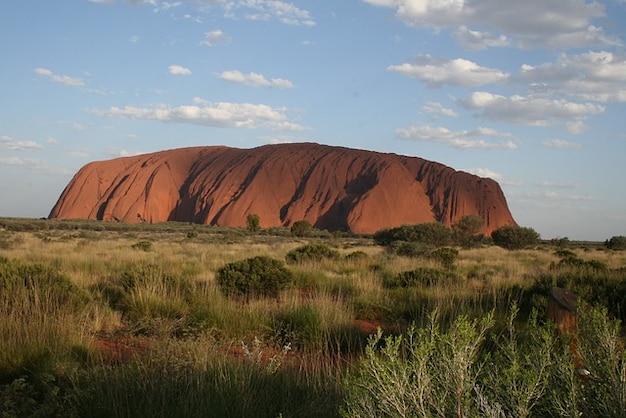 Geografia uluru austrália ayers rock