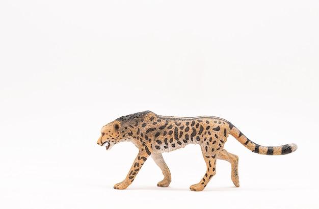 Gepard de brinquedo de plástico realista