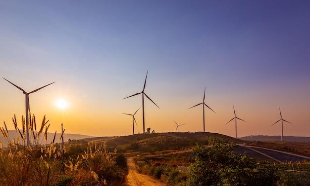 Geração de energia para turbinas eólicas