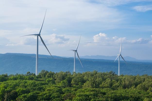 Gerador de energia de turbina eólica no campo windpower