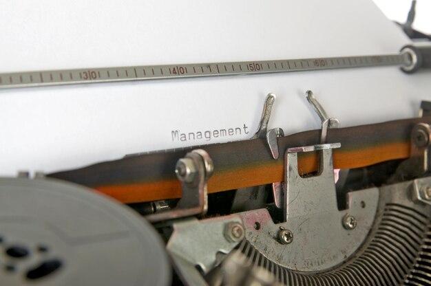 Gerenciamento de digitação