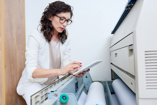 Gerente de loja de impressoras