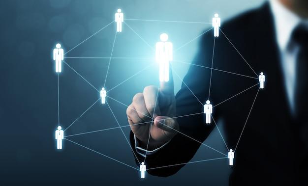Gestão de recursos humanos e recrutamento