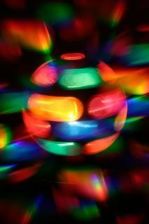 Girando lâmpada discoteca abstrato filtro
