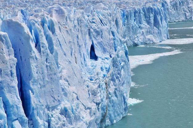 Glaciar perito moreno perto de el calafate na patagônia da argentina