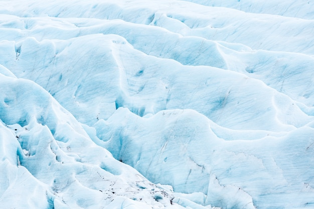 Glaciar svinafell islândia
