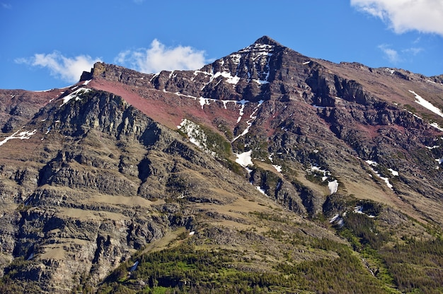 Glacier rocky mountains