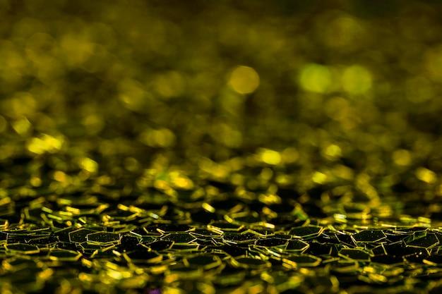 Glitter dourado brilhante