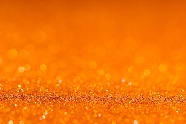 Glitter dourado cintilante