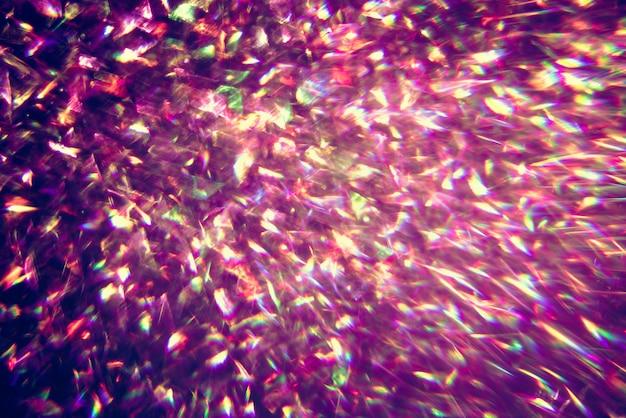 Glitter ouro bokeh colorfull fundo abstrato borrado para aniversário
