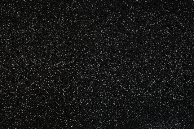 Glitter prata de natal em preto