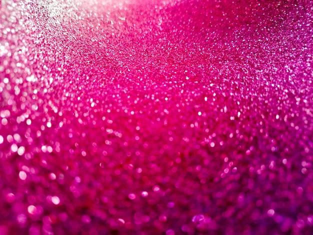 Glitter rosa bokeh