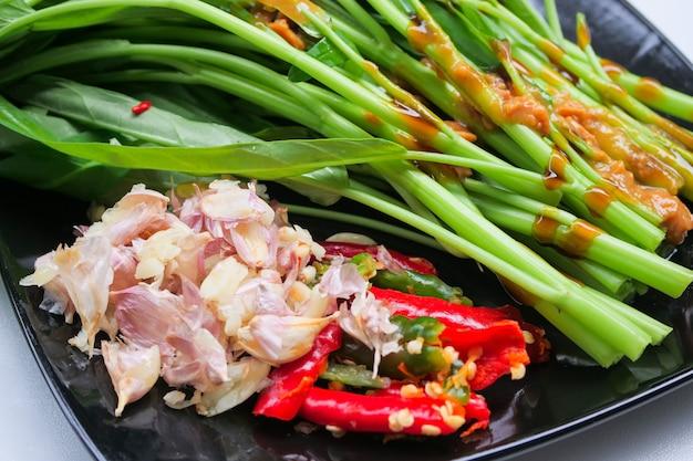 Glória da manhã chinesa frito
