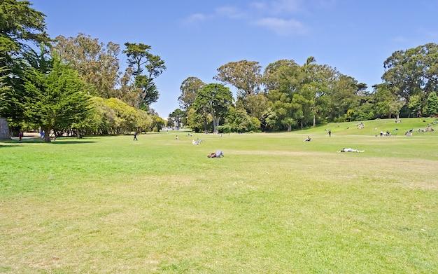 Golden gate park, são francisco, eua