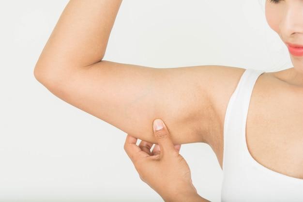 Gordura no braço