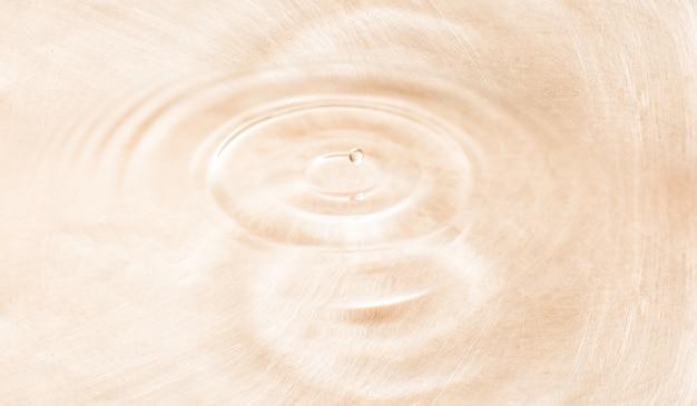 Gota de água de perto