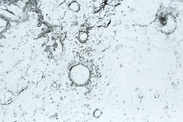 Gotas de água abstrata