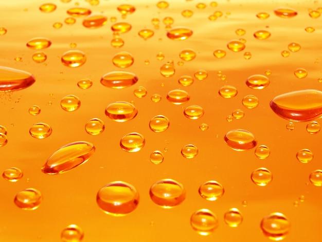 Gotas de água