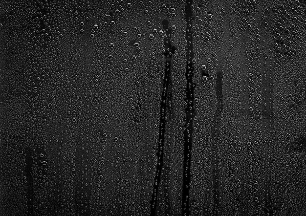 Gotas de chuva no vidro
