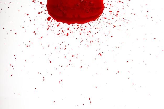 Gotejamento de sangue