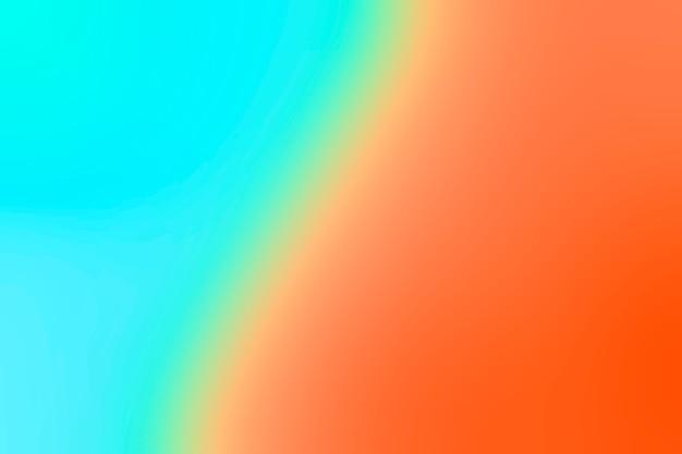 Gradação colorida brilhante
