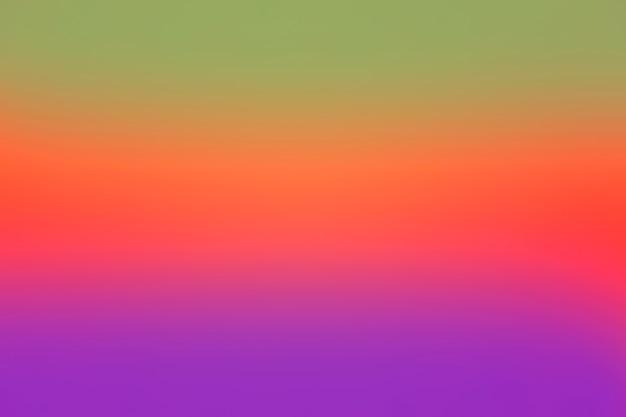 Gradado de fundo colorido