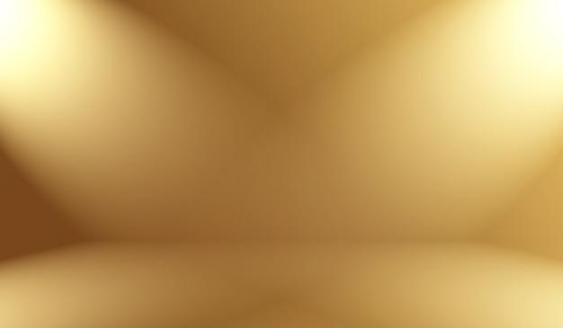 Gradiente abstrato de luxo dourado amarelo