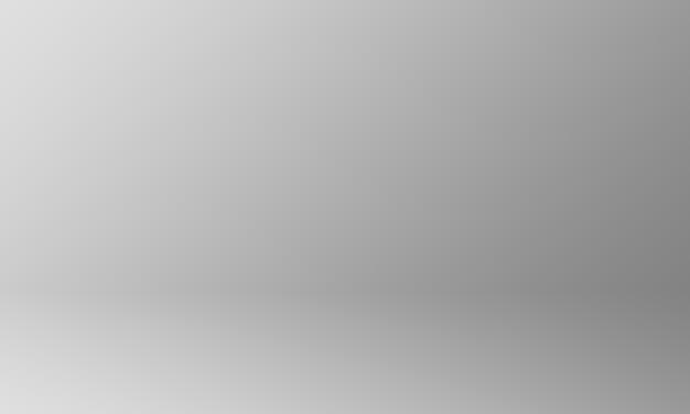 Gradiente de cinza de fundo do estúdio