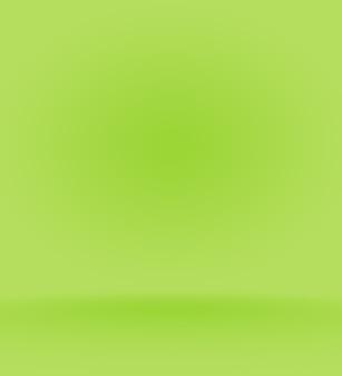 Gradiente de desfoque verde e verde claro