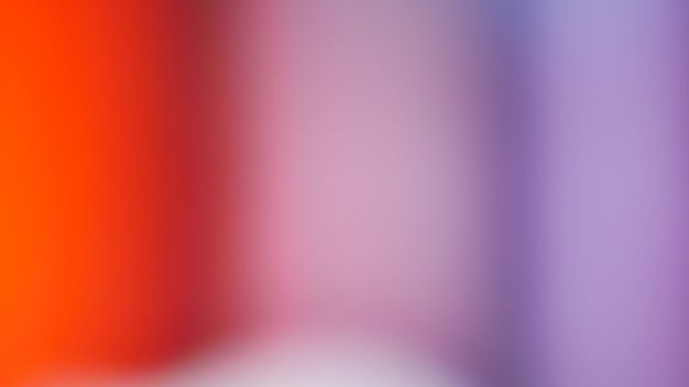Gradiente de laranja desfocado foto abstrata linhas suaves cor de fundo