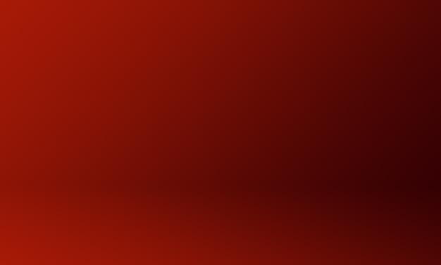 Gradiente vermelho escuro do fundo do estúdio