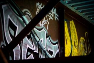 Graffiti ponte