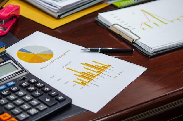 Gráfico e tabelas