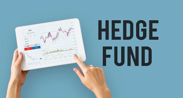 Gráfico financeiro da bolsa de valores