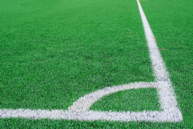 Grama de campo de futebol conner.pattern de grama verde fresca para futebol