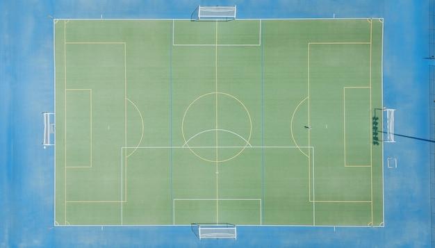 Grama verde para campo de futebol criar jogo de esporte