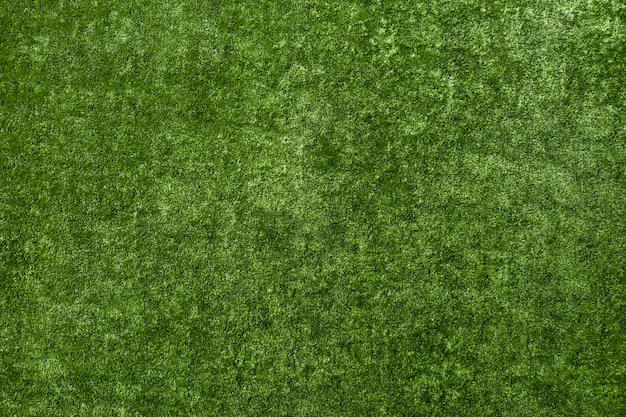 Gramado verde de plástico artificial resistente ao desgaste