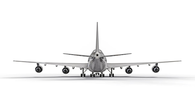Grande avião de passageiros de grande capacidade para longos voos transatlânticos