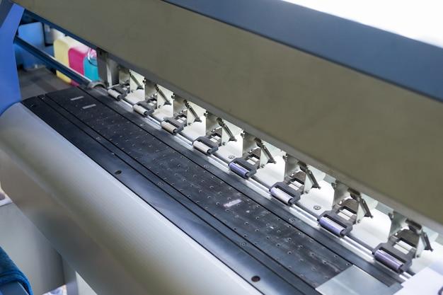 Grande bloqueio de linha de jato de tinta para impressora
