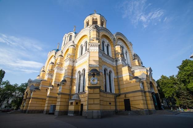 Grande catedral de vladimir em kiev