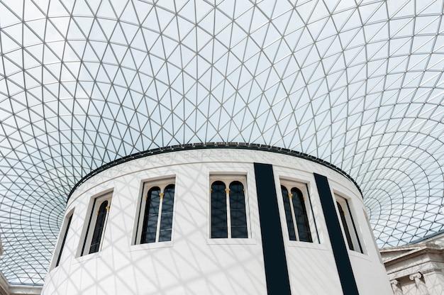 Grande corte do museu britânico