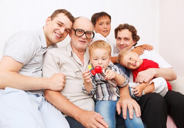 Grande família. gerações