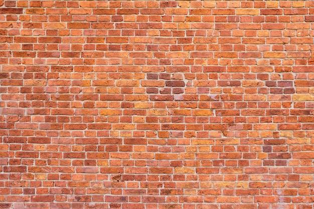 Grande fundo de uma velha parede de tijolos