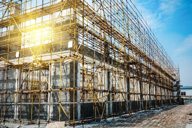 Grande local de construção